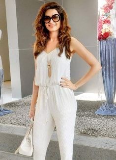 Karishma Tanna at Falguni & Shane's summer collection launch. #Bollywood #Fashion #Style #Beauty #Hot #Sexy #Punjabi