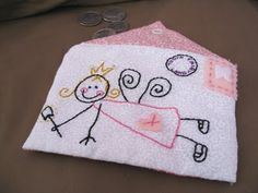 The Paper Pony: Tooth Fairy Envelope