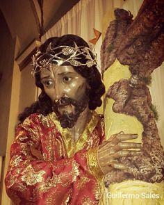 """""""Cucurucho: Cristo lleva la cruz por ti para que durante toda tu vida practiques su evangelio"""" Jesús Nazareno de Huehuetenango #CuaresmaGT"""