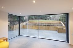 Some inspiration with our minimal windows sliding glass doors. The use of glass door has really helped this project by adding tons of natural light and creating an inviting space