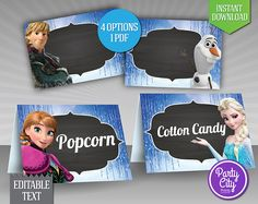 Free Frozen Printables Food Labels images