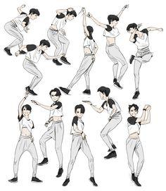 pose de dança (dance pose) 2