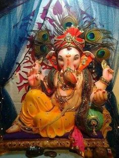 Ganesha, remover of obstacles in Krishna's devotional service