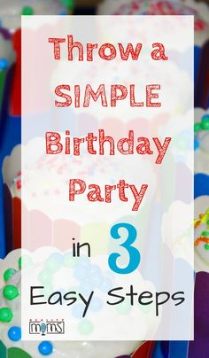 Trying to do a simple birthday party? It�s worth it! Check out these ideas for a great kid�s birthday that is simple and easy to do whether you�re at home or outdoors at a park, with a small group or big. These tips can help you have a fantastic, easy par