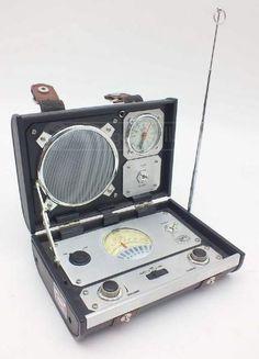 Spirit of St. Radios, Desktop Clock, Antique Radio, Transistor Radio, Speaker Design, Travel Gadgets, Diy Electronics, St Louis, Spirit