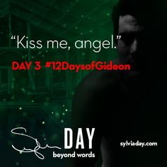 On the third day of Gideon my lover said to me…#12DaysofGideon