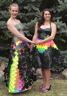 Ellen and Anna in the Stuck at Prom Scholarship Contest