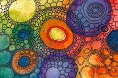 Rainbow Veins by CAMartin (print image)