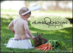two cute BUNnies | Easter Session | Baby Photography