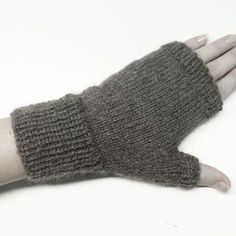 Ravelry: Your First Fingerless Gloves pattern by Kristin McDougall