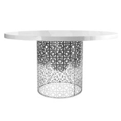 Callisto Marble Round Dining Table Created for Macys Round