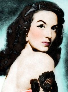 Maria Felix - Mexican Actress & Icon (1950's)