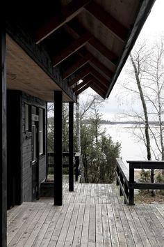 Hullaannu ja hurmaannu: Jäähyväiset mökille Michigan, Cottage Ideas, Home, House, Homes, Houses