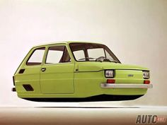 Fiat 500, Hover Car, Flying Car, Car Illustration, Small Cars, Car Stuff, Concept Cars, Cool Cars, Wings