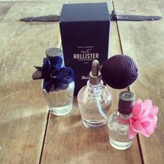 Fave Hollister perfumes!