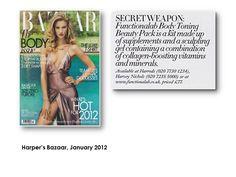 Harper's Bazaar, January 2012