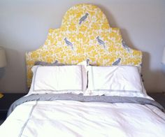 diy headboard!!! with different material