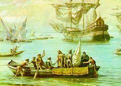 File:Benedito Calixto - Estácio de Sá em São Vicente, 1565 (detalhe 2).jpg