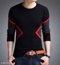 Tshirts Mens T-shirt Fabric: Cotton Sleeve Length: Long Sleeves Pattern: Self-Design Multipack: 1 Sizes: S (Chest Size: 36 in Length Size: 27 in)  XL (Chest Size: 42 in Length Size: 28.5 in)  L (Chest Size: 40 in Length Size: 28 in)  M (Chest Size: 38 in Length Size: 27.5 in)  XXL (Chest Size: 44 in Length Size: 29 in)  Country of Origin: India Sizes Available: S, M, L, XL, XXL   Catalog Rating: ★4 (462)  Catalog Name: Trendy Retro Men Tshirts CatalogID_1469220 C70-SC1205 Code: 933-8643053-999