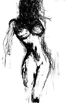 Kobieta Wygięta, grudzień 2015, progowanie