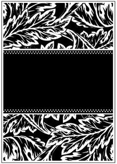Couture Creations - 5x7 Embossing Folder - Romantique Bonjour,$8.99