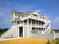 6 Bedroom Vacation Rental in Salvo, North Carolina, USA - Yellow Fin