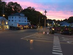 Ogunquit, Maine Photo taken  from  inside  The Front Porch restaurant and piano bar