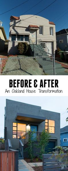 Baran Studio designed a contemporary remodel for this old Spanish Style house in Oakland, California.