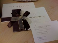 Brown, Invitations, Gold, Hardcover