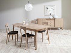 124000adc5c Casø spisebord m/klaff - Skan møbler Matsalar, Midcentury Modern, Fjäril,  Heminredning