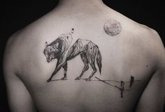 Wolf Tattoo by NADi