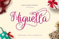 Miguella Script ( 35% OFF ) by Dirtyline Studio on @creativemarket