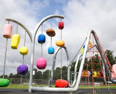 Gary Webb, Squeaky Clean, Charlton Park Greenwich, London, 2012 - Playscapes