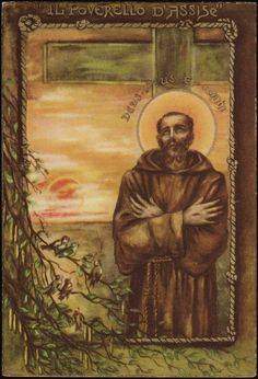 Ignatius of Loyola His Vision of the Most Holy Trinity St. Francis of Assisi My God and My All St. Francis Of Assisi, St Francis, Religious Images, Christian, Painting, Beautiful, Saints, Peace, Saint Francis