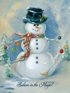 I love a snowman!
