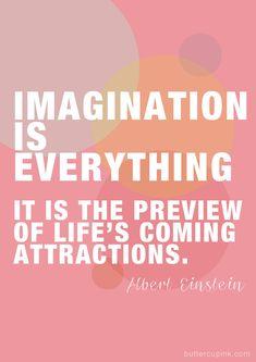 imagination, Albert Einstein, law of attraction, the secret, believe, inspire, life, karma