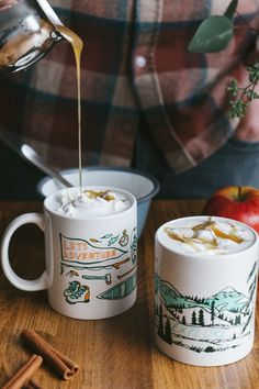Grab a few friends and indulge in this delicious, warm fall drink.