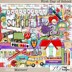 First Day Of School by LDrag Designs