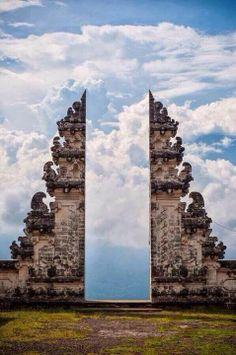 Pura Lempuyang Door. Bali, Indonesia.