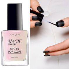 #ManiMonday Go Matte all the way, including your nails! Order Magic Effects Matte Top Coat by Direct Delivery or through your Avon Representative. AU: avon4.me/29hyCIS NZ: avon4.me/29cuaJn #AvonAUSNZ #nailspiration #NailArt