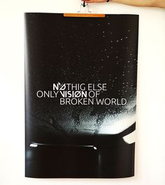 Plakat - NOTHING ELSE - print 70x100
