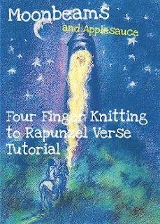 four finger knitting rapunzel verse
