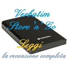 La recensione del Verbatim Store 'n' Go: hard disk esterno con semplici e rapide funzioni plug and play, massima comodità ed una garanzia di ben sette anni. http://harddiskesternohd.com/verbatim-store-n-go-recensione/