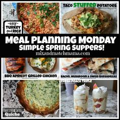 Meal Planning Monday #275