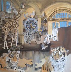 Original Animal Painting by Grant Netherlands Original Paintings, Original Art, Dream Painting, Surreal Art, Artwork Online, Surrealism, Buy Art, Netherlands, Saatchi Art