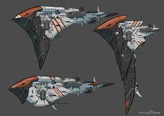 ArtStation - Spaceship 12, Remy PAUL
