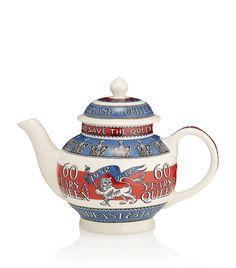 Emma Bridgewater Diamond Jubilee Teapot at Harrods