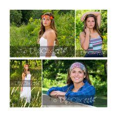 Boho, senior girl, senior, photography, poses, senior portraits, headbands, senior girl photography, DigiClix Photography, senior photos, senior pictures