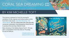 COral Sea Dreaming invite Sea Dream, Book Launch, New Books, Underwater, Collaboration, Invite, Archive, Product Launch, Coral