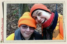 Me & Kyle in Green County hunting… we saw nothing! Yet had fun hanging out with dad a.k.a. pap 12/2/13  #AuntHeather
